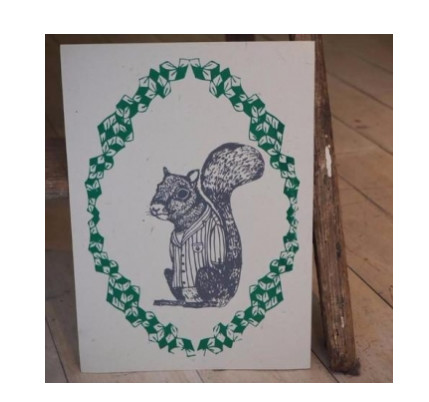 This Alf Eco Squirrel Print is 50% off