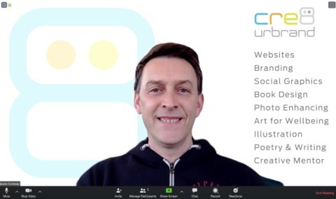 Custom Zoom Virtual Background Design