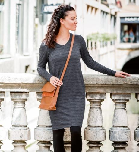 Women's Merino Union Stripe Dress: Save £39.50!