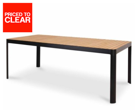 CLEARANCE! 6 Seater Metal Dining Table - SAVE £138!