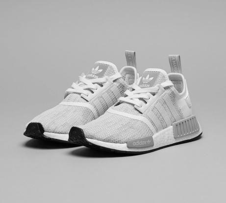 £35 OFF - adidas Originals Womens NMD R1 Trainer in White / Grey!