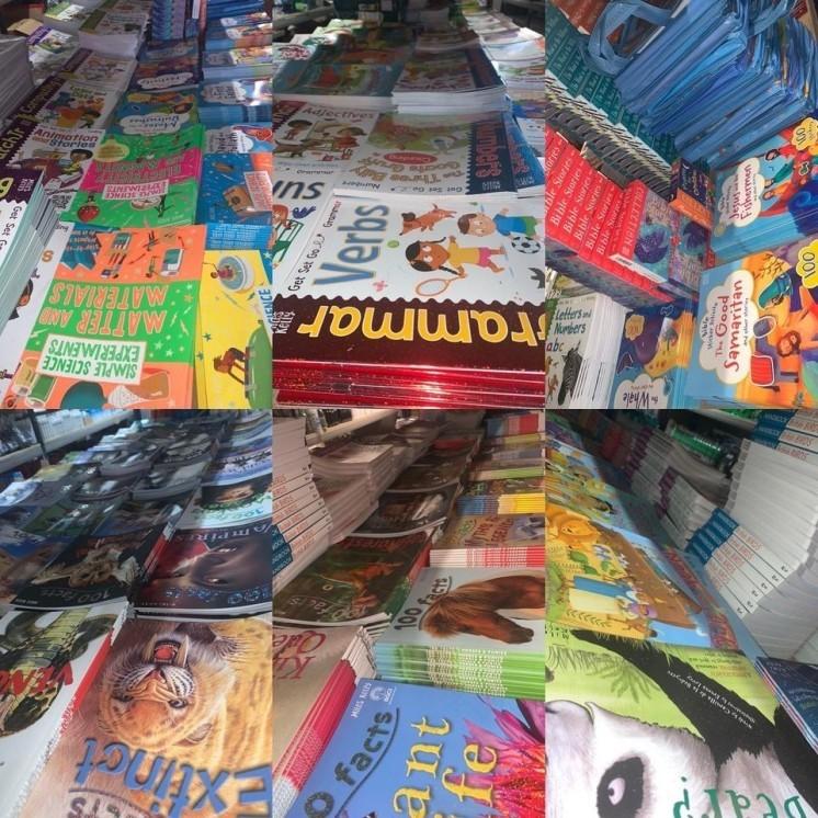 Books books and more books!!