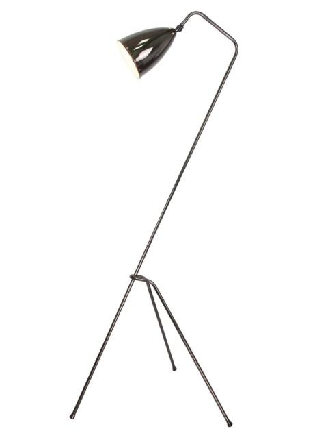 Cricket Gunmetal Tripod Floor Lamp - SAVE 70%!