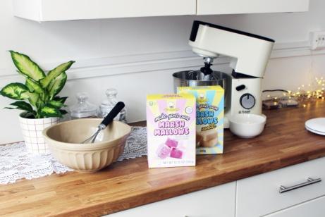 Make your own Marshmallow kit (Raspberry) - £5.95!