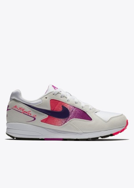 NEW ARRIVALS  - Nike Air Skylon II in White/Court Purple/Solar Red £79.00!