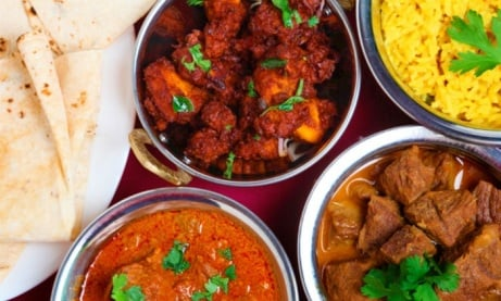 WEDNESDAY DEAL! Curry & a Drink for £5.49!