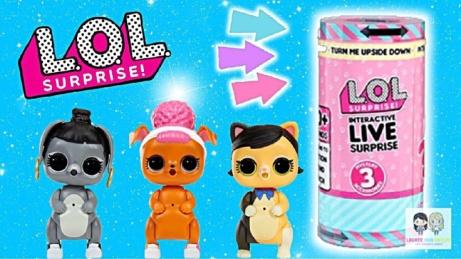 NEW IN - L.O.L. Surprise! Interactive Live Surprise - £25!