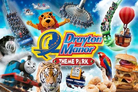 Drayton Manor Park & Zoo Tickets - SAVE 36%!