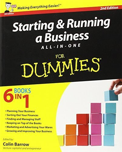 1/2 PRICE - Starting and Running a Business All-in-One For Dummies!
