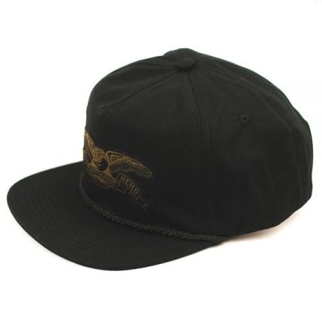 Anti Hero Eagle Patch Snapback Cap Black-Olive - £35.00!