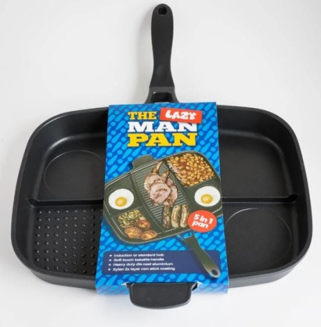SAVE 25% OFF The Lazy Man Frying Pan!