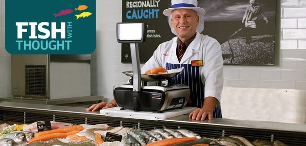 Shop sea bass, salmon and more in our fish section - mmmm!