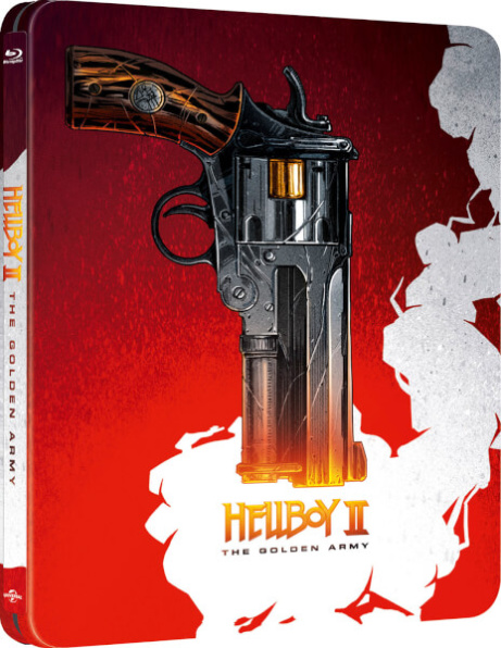 SAVE 33% OFF Hellboy II: The Golden Army (10th Anniversary) - Zavvi Exclusive Steelbook!
