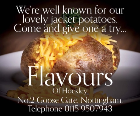 We're best known for our delicious Jacket Potatoes!