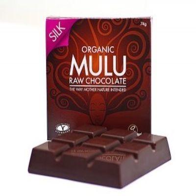 Organic Raw Chocolate Silk block - £3.59