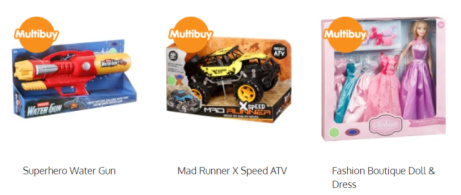 2 Toys for £15 - Over 50 to choose from!