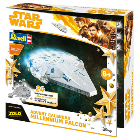 Build your way through the build-up to Christmas with this Star Wars set!