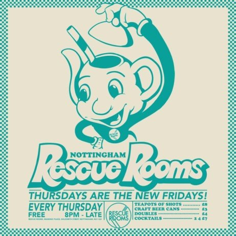 Thursday's are the new Fridays: 8 pm till late get drinks from just £4.00!