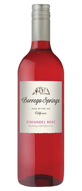 Borrego Springs Zinfandel Rosé, California ONLY £7.95 each!