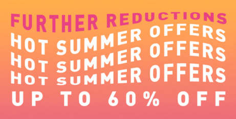 Shop our Summer Sale and SAVE up to 60%!