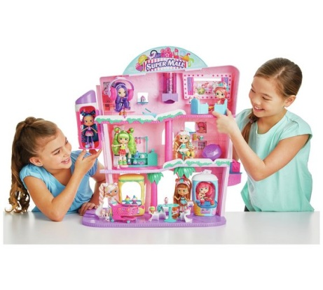 Shopkins Shoppies Shopville Super Mall Playset - NOW ONLY £46.99!