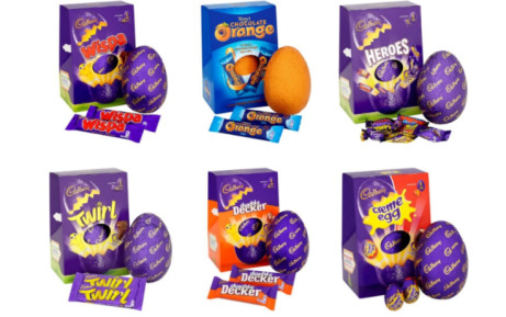 3 for £10 on ALL LARGE EASTER EGGS!