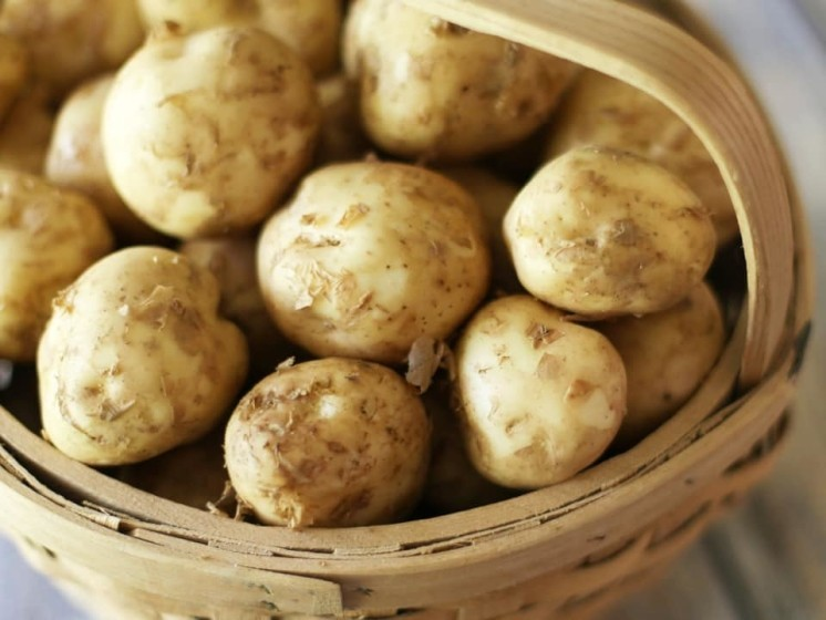 NEW POTATOES, Cold in salad or hot with melted butter?