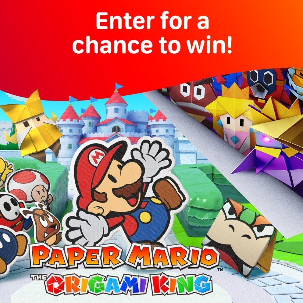 WIN - Paper Mario: The Origami King