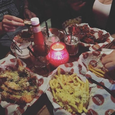 Bunk Holiday blues? No problem! Half price Wings before 10pm!