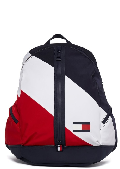 SAVE 40% OFF Tommy Jeans Signature Stripe Backpack in Blue!