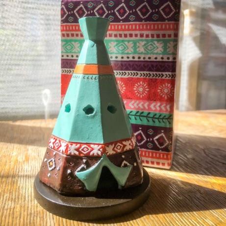 Teepee incense cone burner - £5.99!