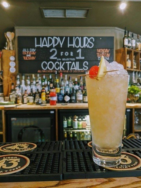 "We've got called this week's cocktail of the week ""Strawberry Blonde"" but, really, it's just Ginger"