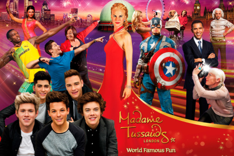 30% OFF Madame Tussauds London Tickets!