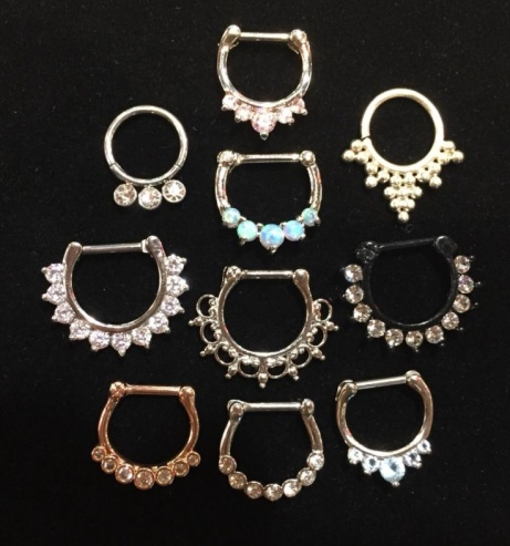 We have septum and nipple bars from £5.95!