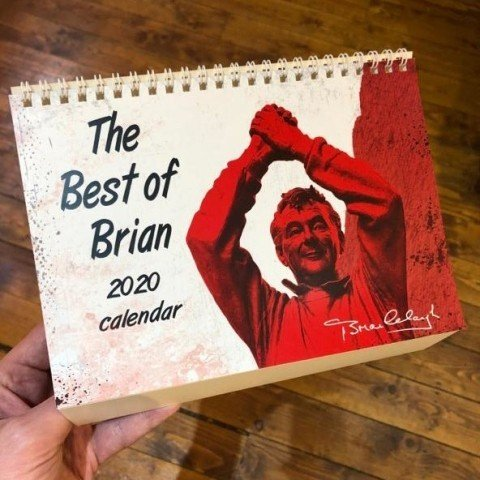 Brian Clough Quotes Desk Calendar