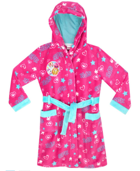 SAVE 37% on Shopkins Dressing Gown!