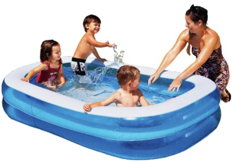 SUN IS HERE! - Get this 6ft Chad Valley Rectangular Paddling Pool for ONLY £17.99