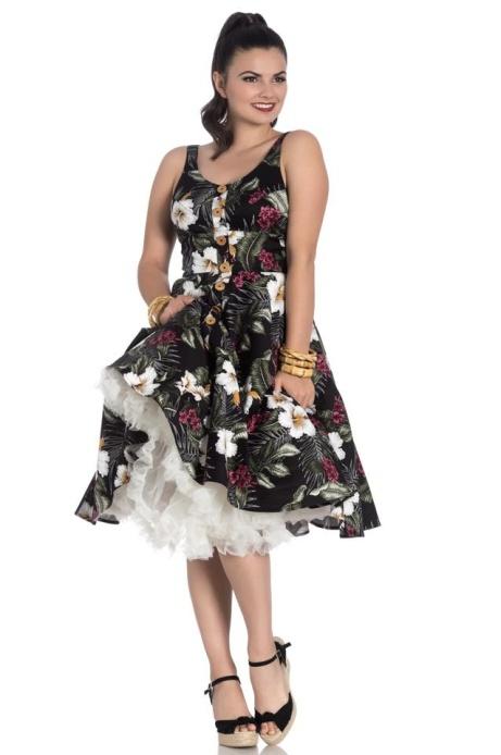 Hell Bunny clothing now available at Ice Nine - Tahiti 50's Dress £39.99!