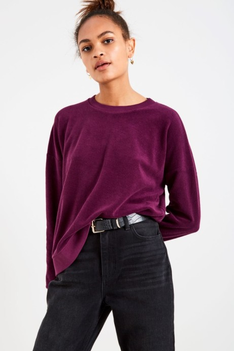 RANGLEIGH TOWELLING SWEATSHIRT: SAVE £25.00!