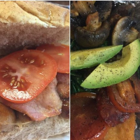Breakfast at Patience Lounge from £2.00 - Vegan and Vegetarian available too!