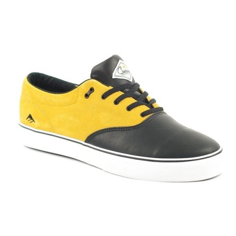 SALE -  Emerica Reynolds Cruiser Black-Yellow: Save £35.00!