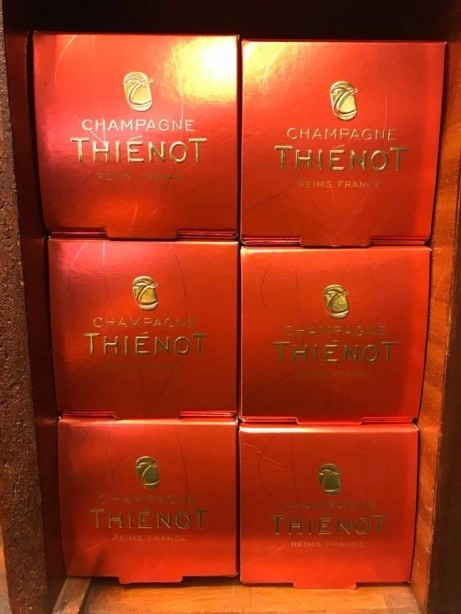 Open the champagne & celebrate Fathers Day this Sunday in style with a bottle of Thienot, Brut.