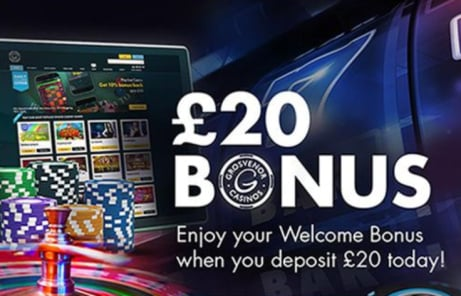 Join today to receive your £20 welcome bonus!