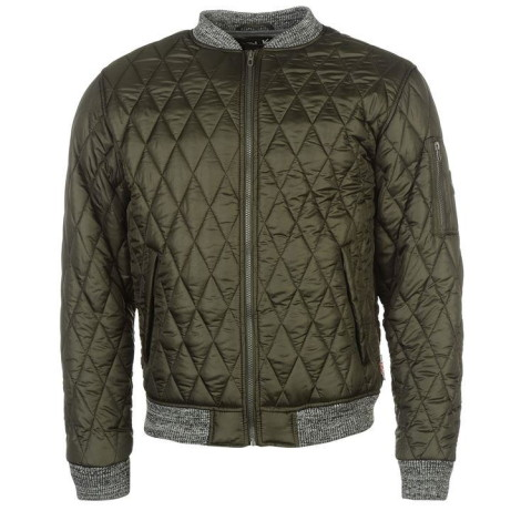 Save £40 on this Lee Cooper Quilted Bomber Jacket