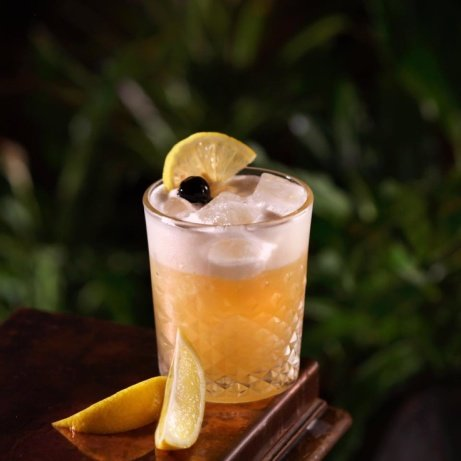The Amaretto Sour... just one of our delicious listed cocktails!