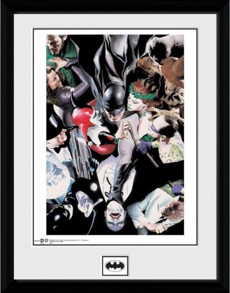 SAVE 30% OFF Batman Villans Collector Print!