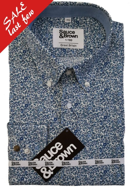 Get 50% off this Byron Men's Floral Shirt