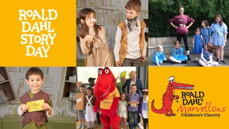 Take part in Roald Dahl Story Day celebrations and raise funds!