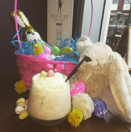 MINI EGG MADNESS Spoil yourself in the sun this Saturday with our Cocktail Of The Week, The Mini Egg