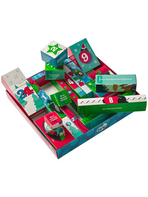 Shop our unique stationery advent calendar now!